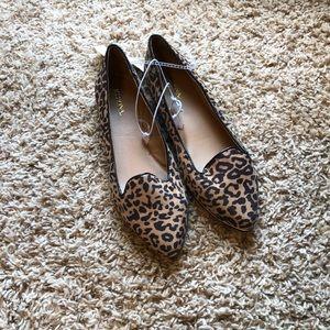 NWT Merona Leopard Print Flats
